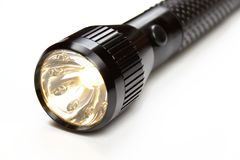 Shining flashlight Royalty Free Stock Images