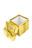 Shining gift box Royalty Free Stock Image