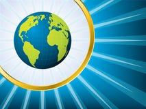 Shining globe Royalty Free Stock Images