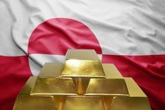 Greenlandic gold reserves Royalty Free Stock Image