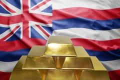 Hawaii gold reserves royalty free stock photo