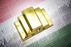 Tajikistan gold reserves Royalty Free Stock Image