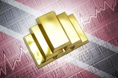 Trinidad and tobago gold reserves Stock Photos