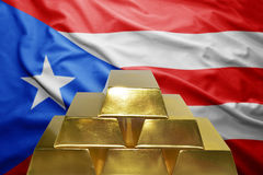 Puerto rico gold reserves Stock Images