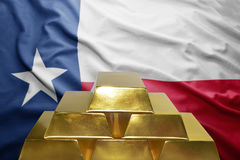 Texas gold reserves Royalty Free Stock Photos