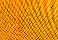 Shining golden disco mosaic  texture Royalty Free Stock Images