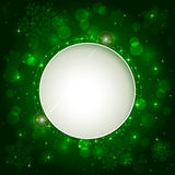 Shining green background Royalty Free Stock Photos