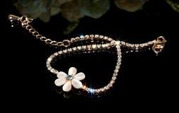 Shining hand catenary Royalty Free Stock Image