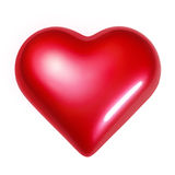 Shining Heart Royalty Free Stock Photo