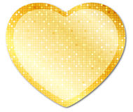 Shining heart2 Royalty Free Stock Photography