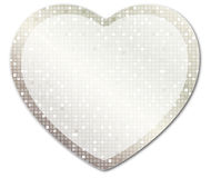 Shining heart3 Royalty Free Stock Image