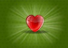 Shining Heart Royalty Free Stock Image