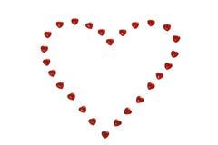 Shining hearts Royalty Free Stock Photography