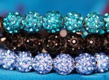 Shining jewels background Stock Photography