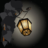 Shining lantern Stock Photo