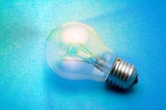 Shining light bulb Royalty Free Stock Photo