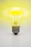 Shining light bulb Royalty Free Stock Photography