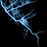Shining lightning Royalty Free Stock Photos