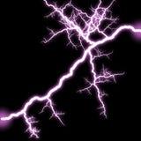 Shining lightning Stock Photo