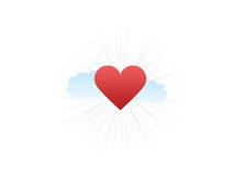 Shining love Royalty Free Stock Images