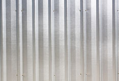 Shining metal texture figure of corrugated glazed Royalty Free Stock Photos