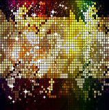 Shining mosaic pattern. Stock Photos