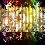 Shining mosaic pattern. Stock Photos