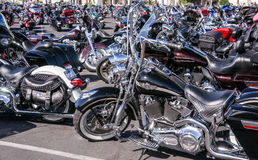 Shining Motorcycles Royalty Free Stock Photos