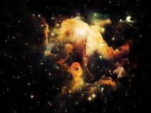 Shining Nebula Stock Photo
