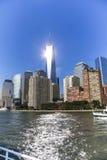 Shining One World Trade Center Royalty Free Stock Photos