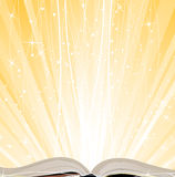 Shining open  book Royalty Free Stock Photo