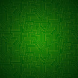 Shining Printed Circuit Board Stock Image