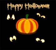 Shining pumpkin Royalty Free Stock Image