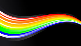 Shining rainbow Stock Photos