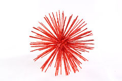 Shining red star Stock Images
