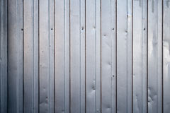 Shining ridged metal fence Royalty Free Stock Photography