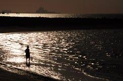 Shining shore Stock Photo