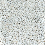Shining smooth natural white stones. Stock Photography