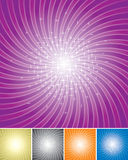 Shining Star. Set of Shining star radiate background.  vector layered Royalty Free Stock Image
