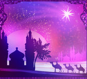Shining star of Bethlehem Royalty Free Stock Photo