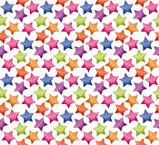 Shining star fabric background. Stock Images