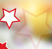 Shining Star Kids background Abstract- 21 July 2017. Kids collection.  Beautiful Design. White star with red border looks great and classy look. Artistic kids Royalty Free Stock Photo