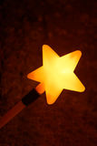 Shining star wand Stock Photography