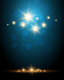 Shining Stars Colorful Background Royalty Free Stock Images