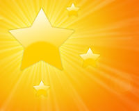 Shining stars Royalty Free Stock Photography