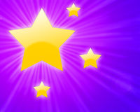 Shining stars Stock Image