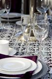 Shining Stemware Stock Photos