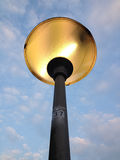 Shining streetlight. Royalty Free Stock Photos