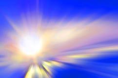 Shining sun Stock Photography