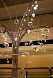 Shining tree lights Stock Photography